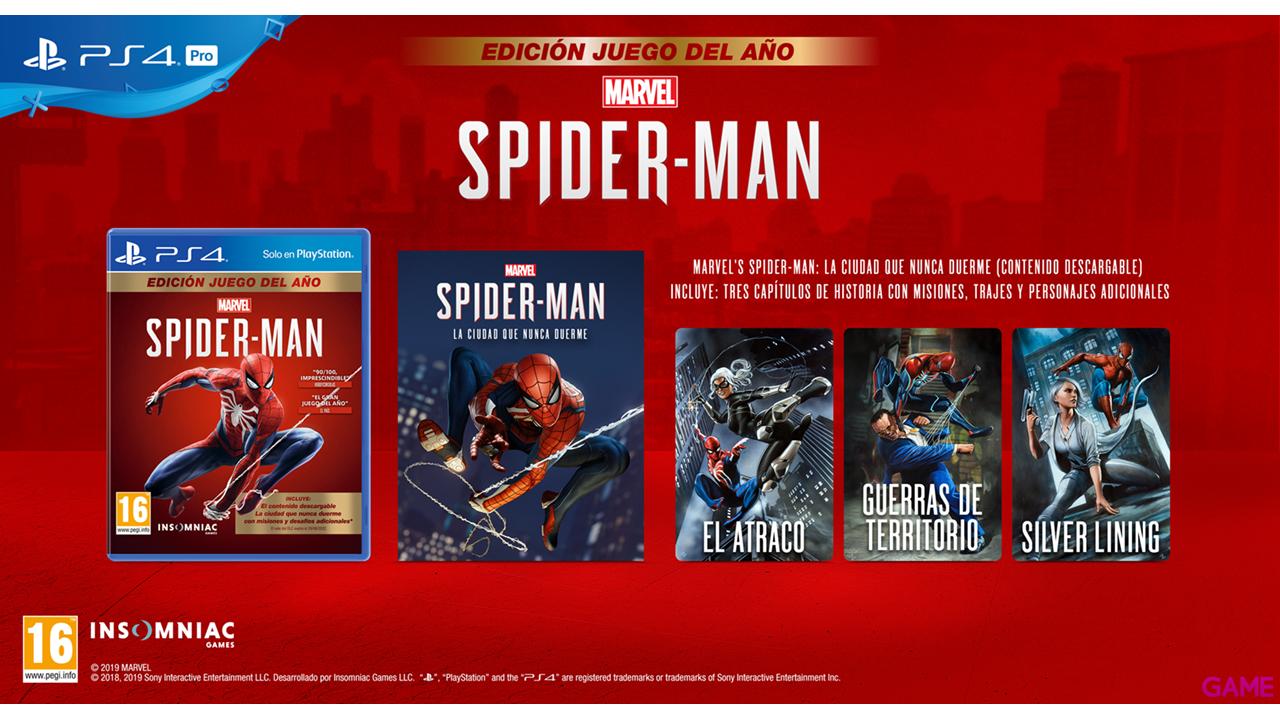Marvel's Spider-Man Edición Juego Del Año