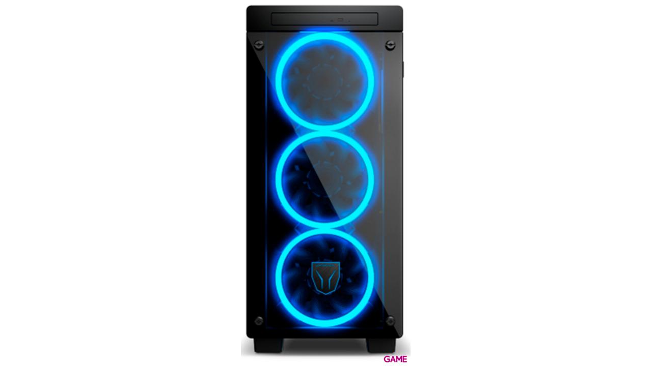MEDION Erazer X60 RGB PCC944 - i5-9400 - GTX 1050Ti 4GB - 8GB - 1TB HDD + 256GB SSD - W10 - Ordenador Sobremesa Gaming