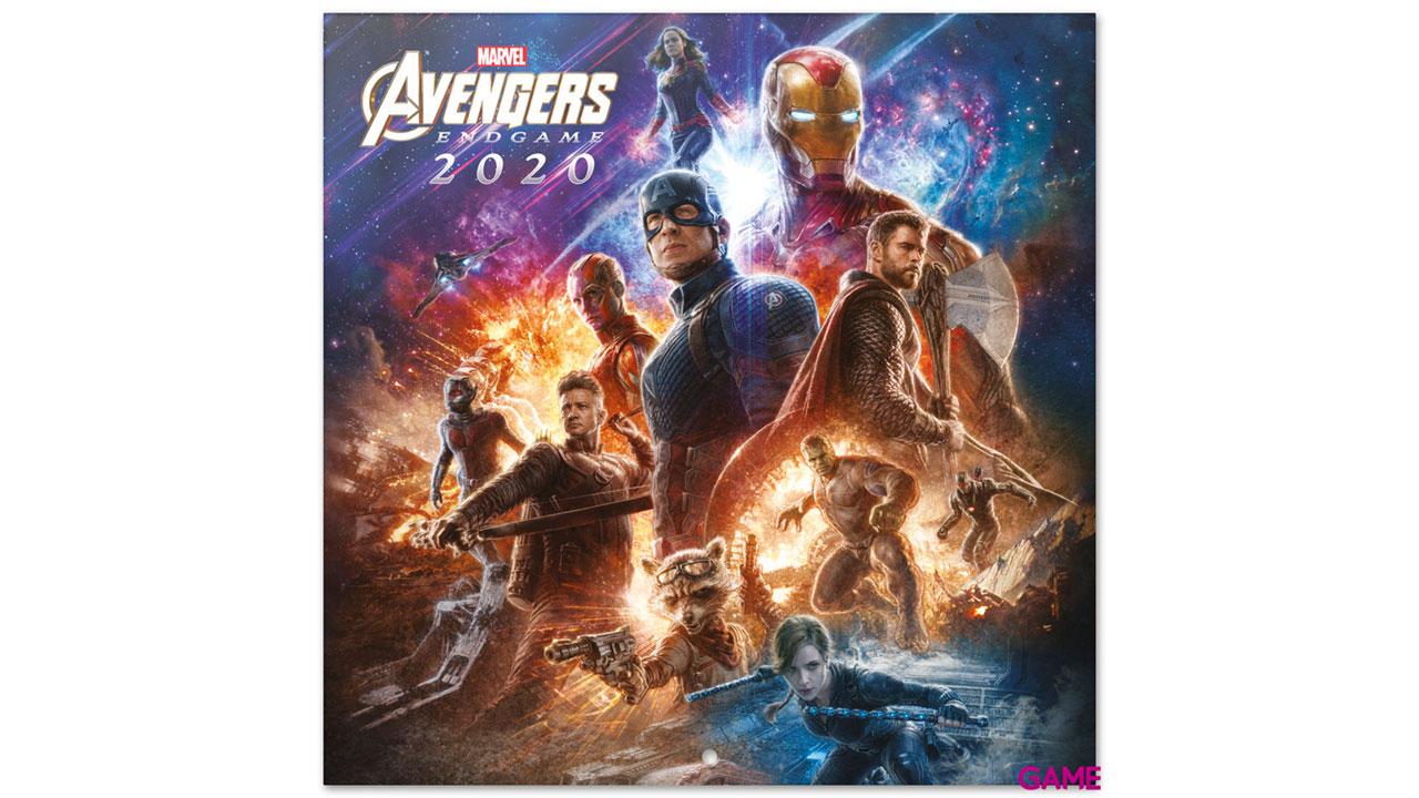 Calendario 2020 Marvel Avengers