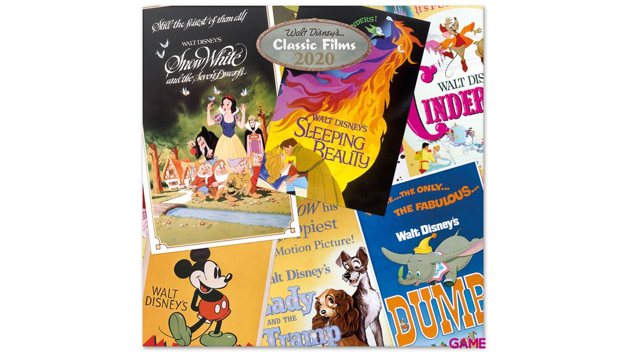 Calendario 2020 Disney Classic Films
