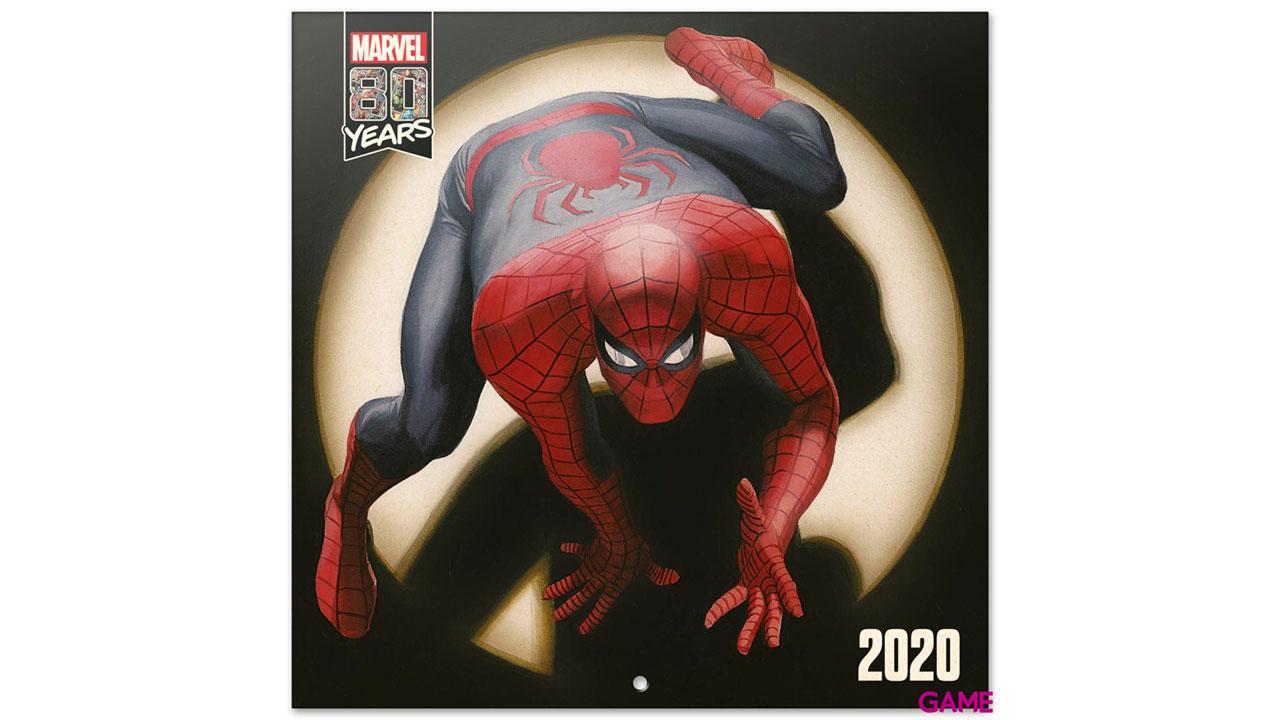 Calendario 2020 Marvel Comics