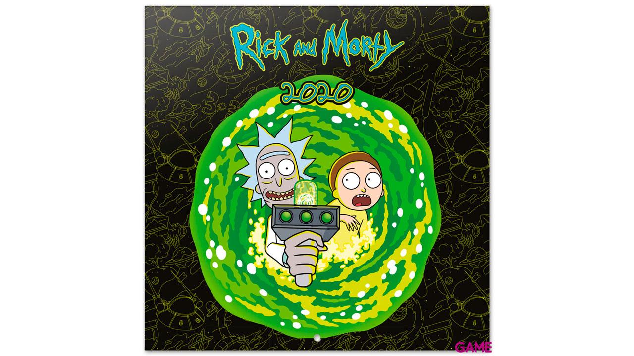 Calendario 2020 Rick y Morty