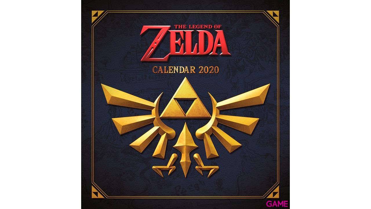 Calendario 2020 The Legend of Zelda