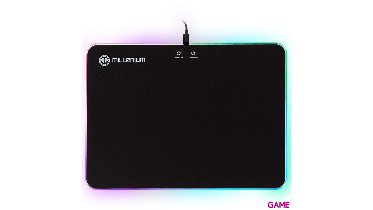 MILLENIUM Surface RGB Rígida - Alfombrilla Gaming