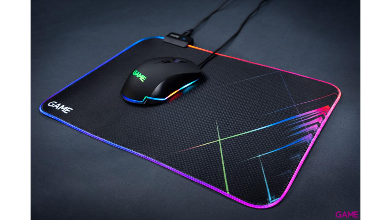 GAME MM310  RGB M - Alfombrilla Gaming