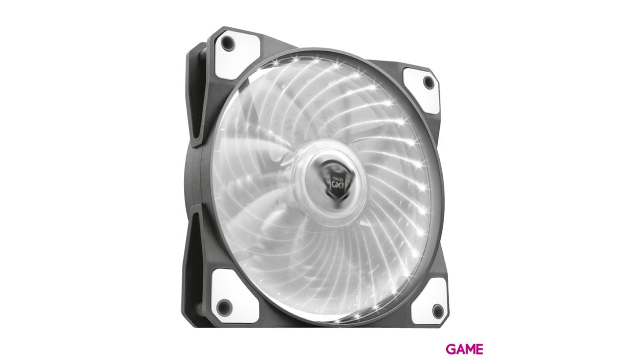 TRUST 762W LED Blanco - Ventilador 120mm