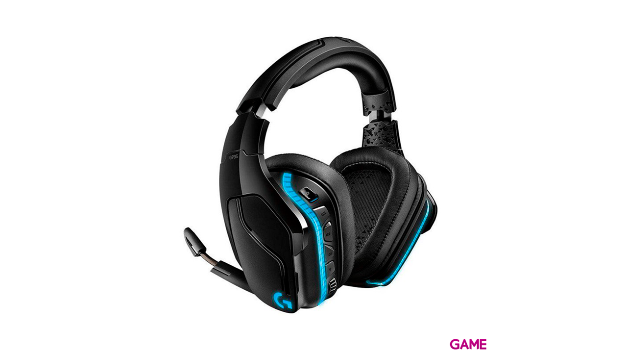 Logitech G935 LIGHTSYNC Wireless 7.1 RGB PC-PS4-PS5-XBOX-SWITCH-MOVIL - Auriculares Gaming Inalámbricos