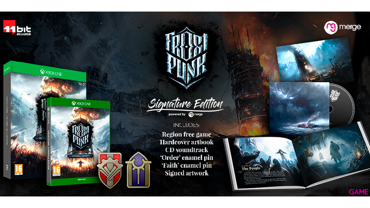 Frostpunk Signature Edition