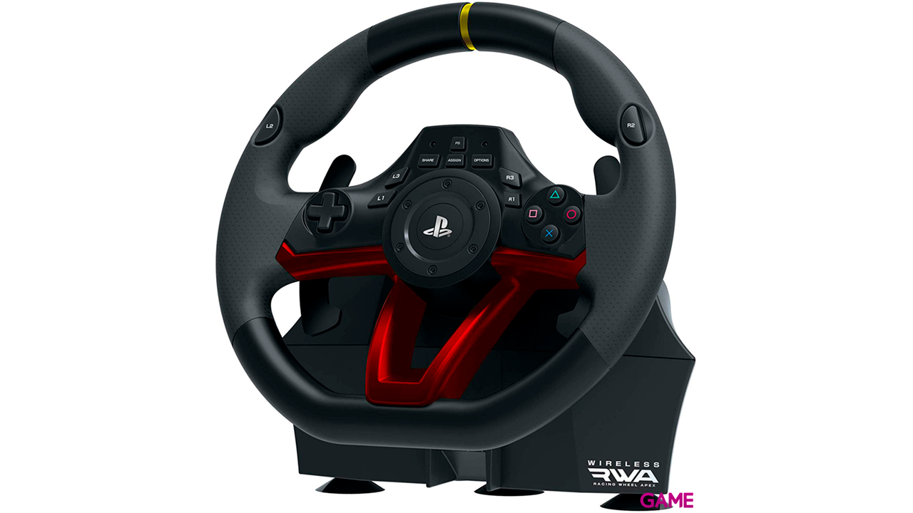 Volante Bluetooth Apex Hori PS4-PC -Licencia Oficial-