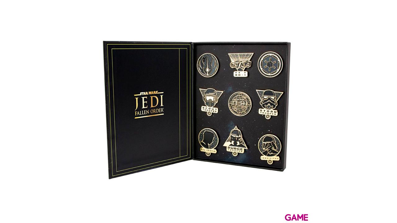 Set de Pin Insignia Star Wars Fallen Order