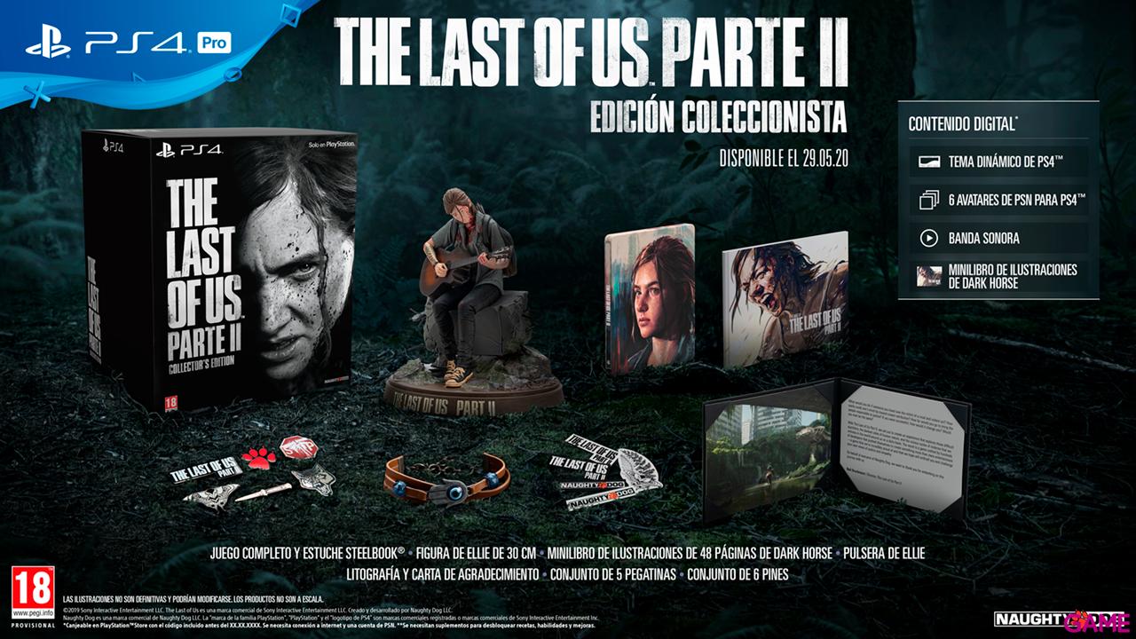 The Last of Us Parte II Edición Coleccionista