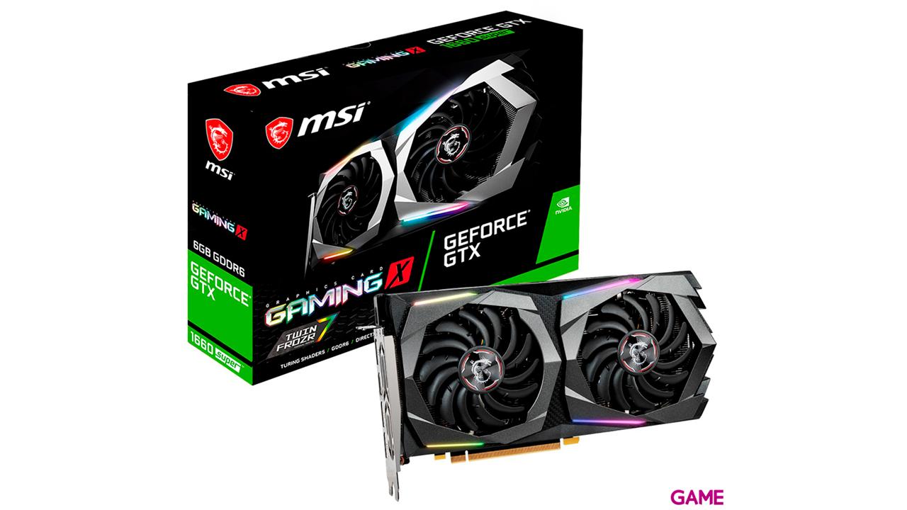 MSI GeForce GTX 1660 SUPER GAMING X - Tarjeta Gráfica Gaming