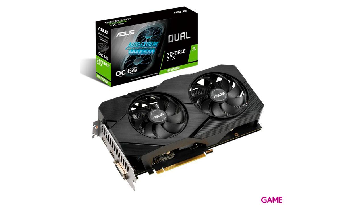 ASUS PHOENIX GeForce GTX 1660 SUPER OC 6GB GDDR6 - Tarjeta Gráfica Gaming