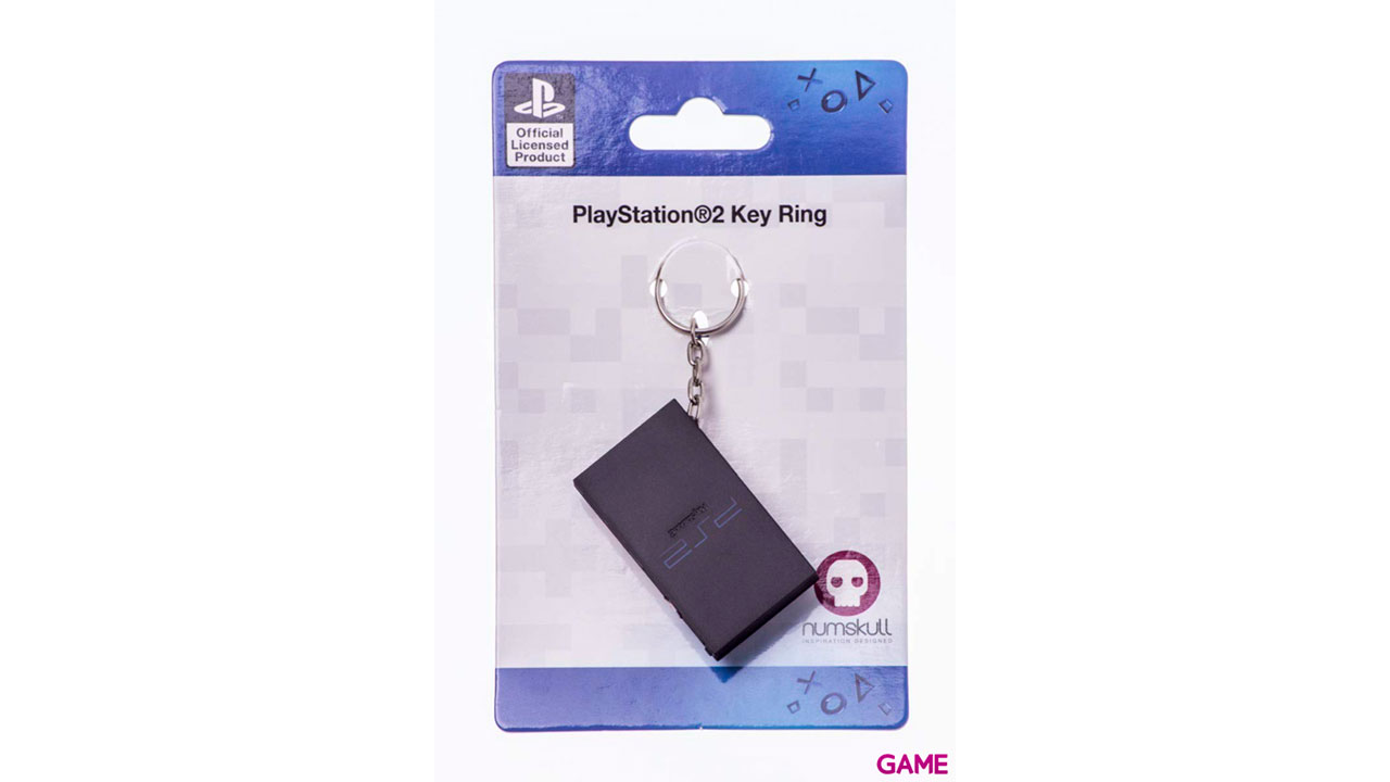 PS2 Console Keyring