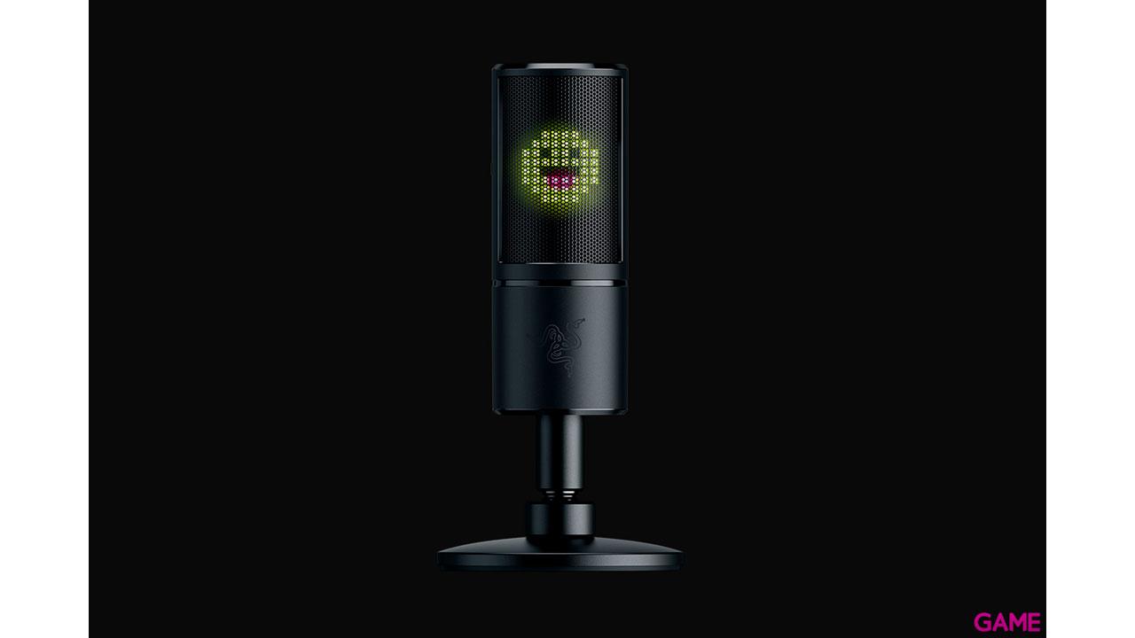 Razer Seiren Emote Hipercardioide - Micrófono Gaming