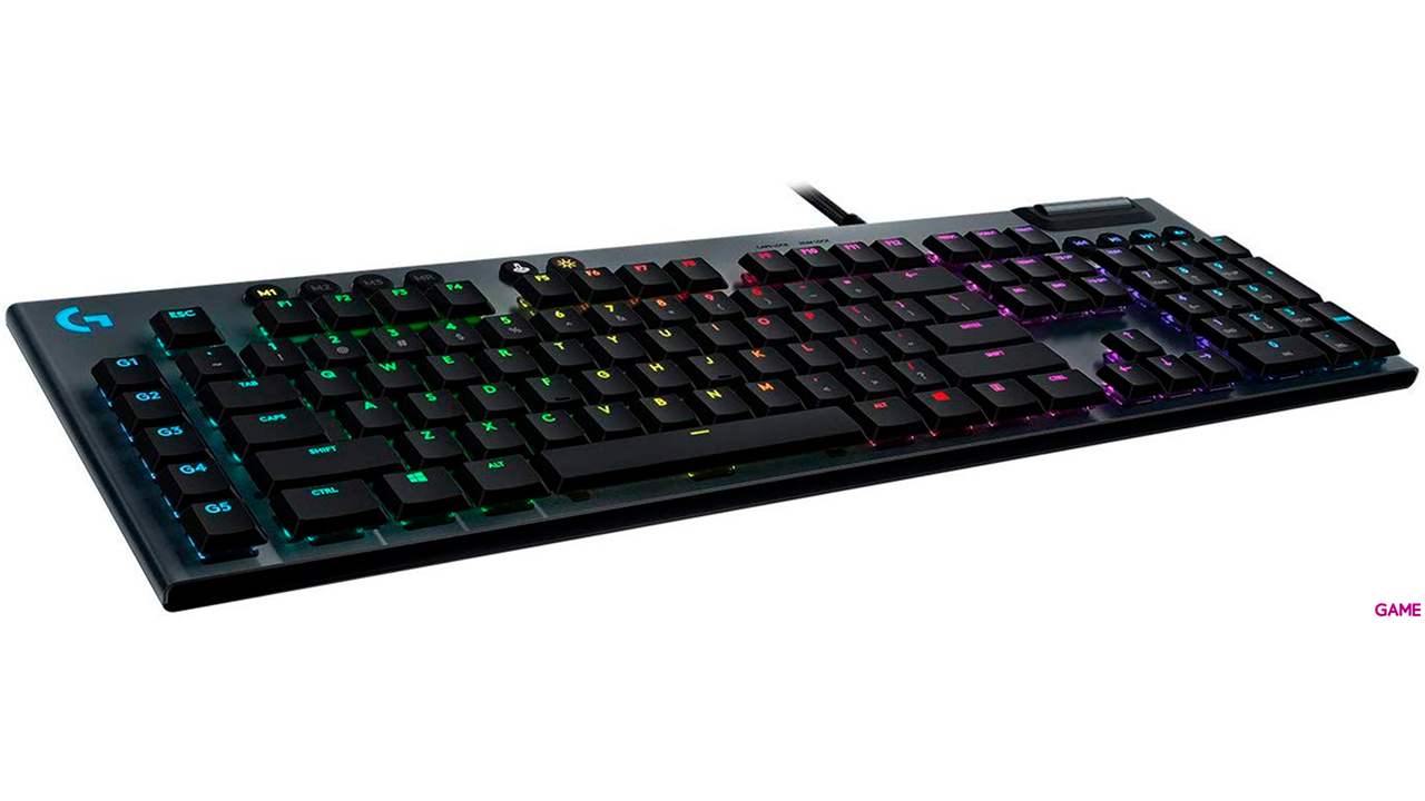 Logitech G815 Switch GL Táctil RGB - Teclado Gaming