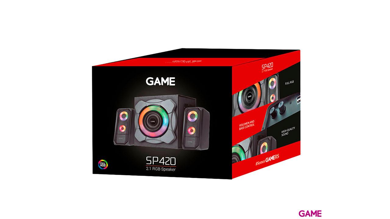 GAME SP420 2.1 RGB Speaker  - Altavoces Gaming