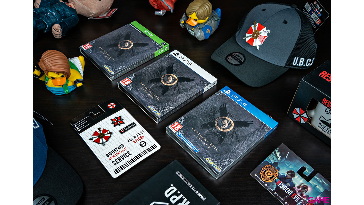 Gorra Resident Evil Welcome to Raccoon City