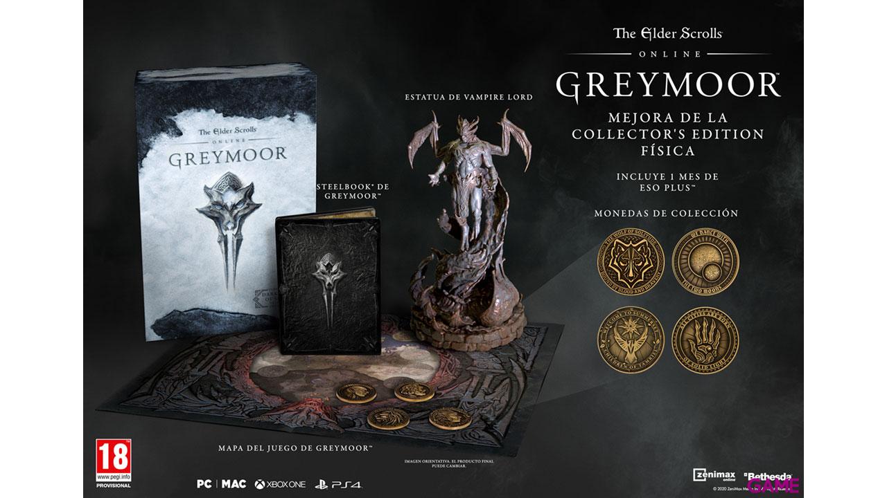 The Elder Scrolls Online Greymoor Collector's Upgrade