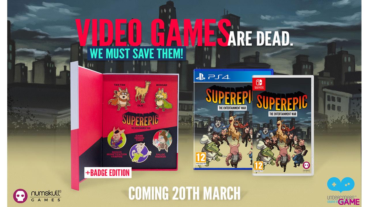 Superepic: The Entertainment War Collector Edition