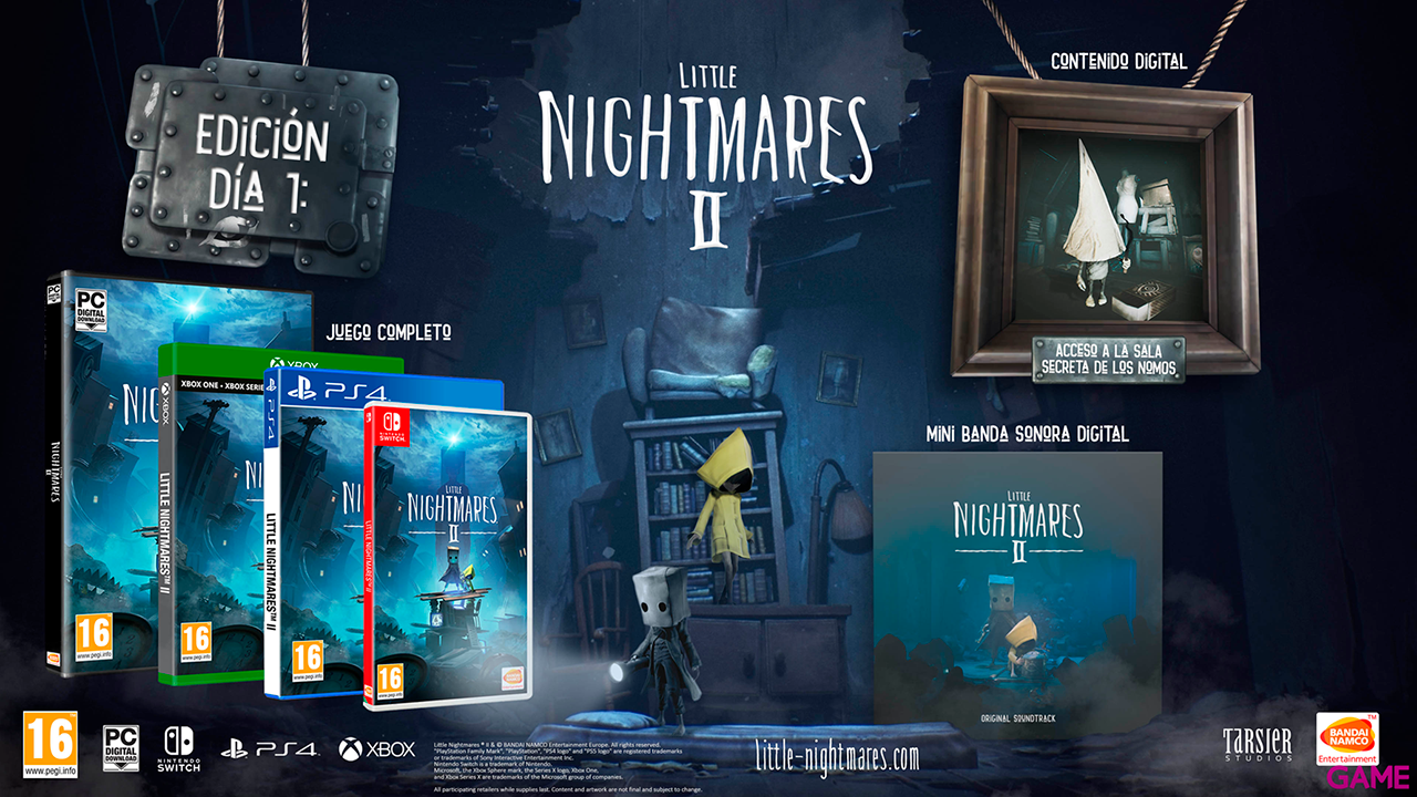Little Nightmares II Day One Ed