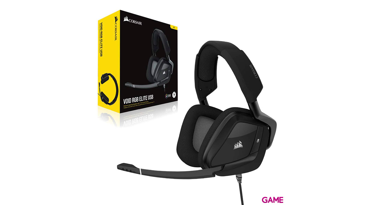CORSAIR Void Elite RGB USB Dolby 7.1 Negro PC - Auriculares Gaming