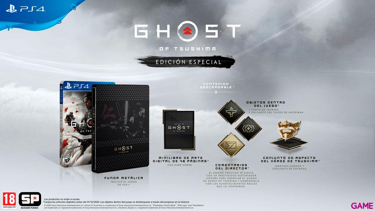 Ghost of Tsushima Edición Especial