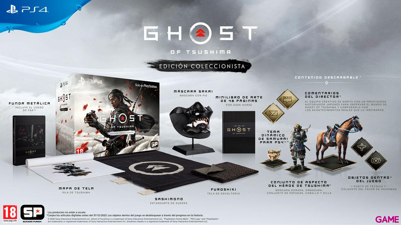 Ghost of Tsushima Edición Coleccionista