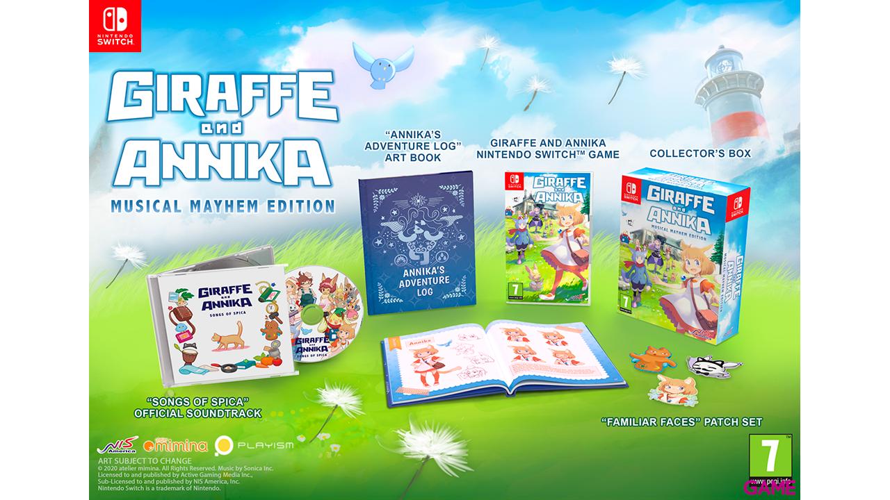 Giraffe and Annika Limited Edition