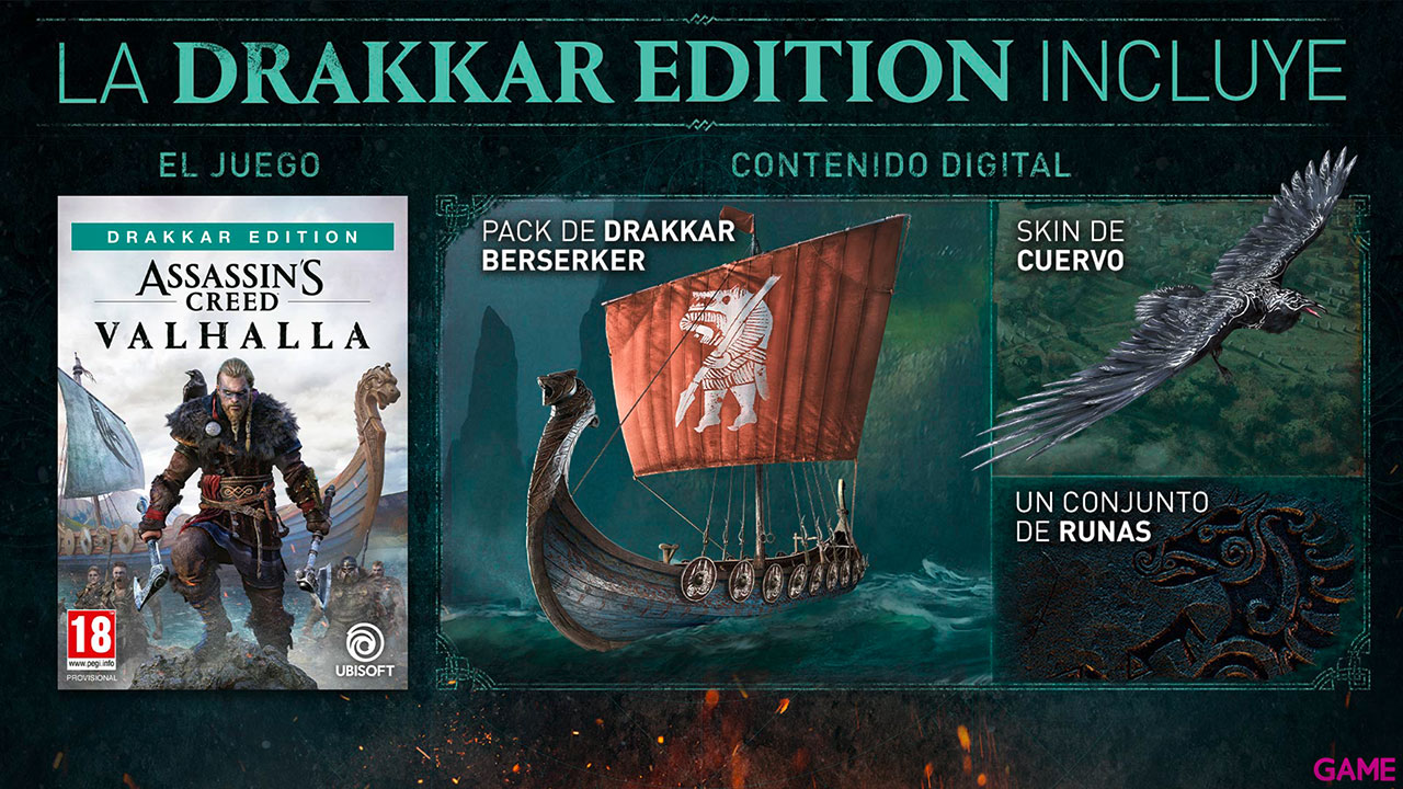 Assassin's Creed Valhalla Drakkar Edition