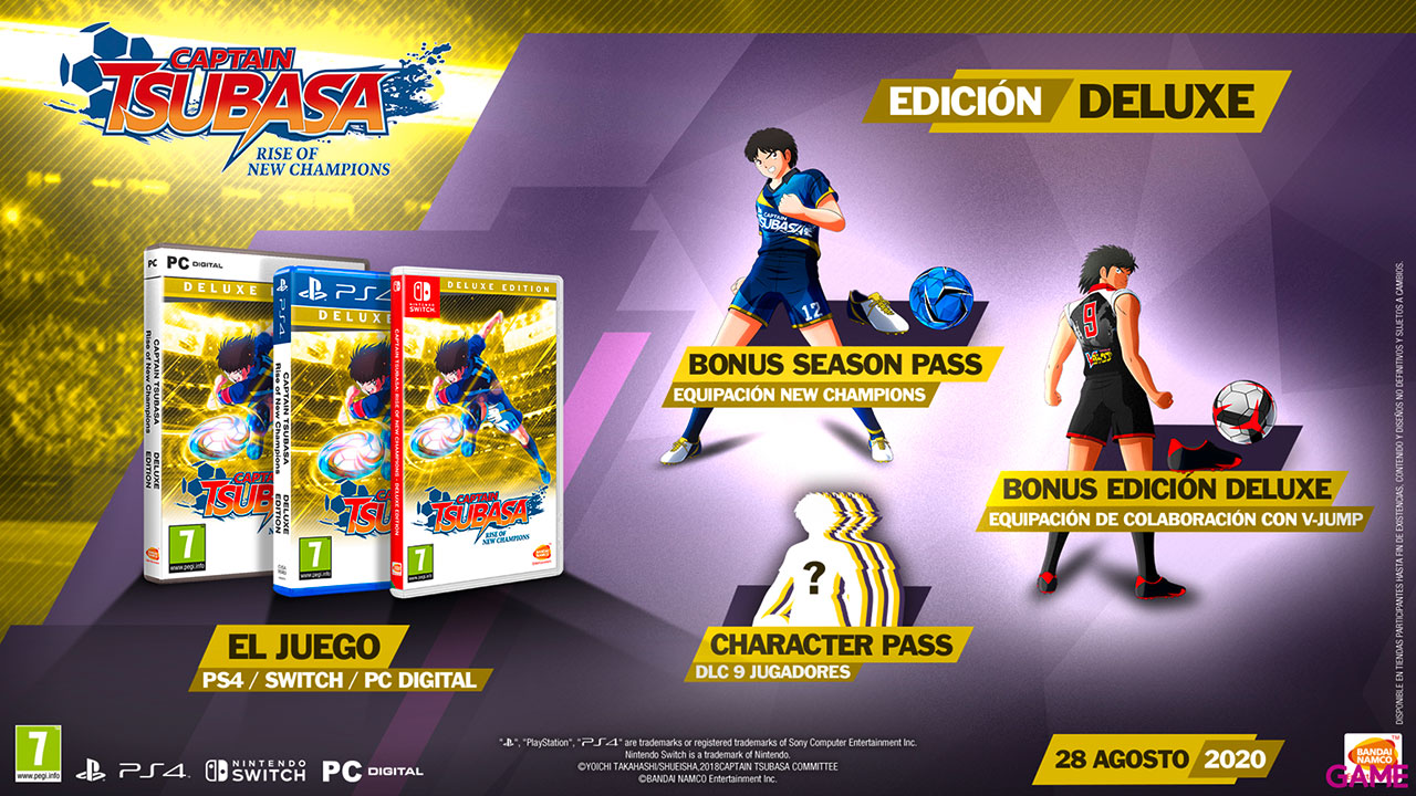Captain Tsubasa: Rise of new Champions Ed Deluxe