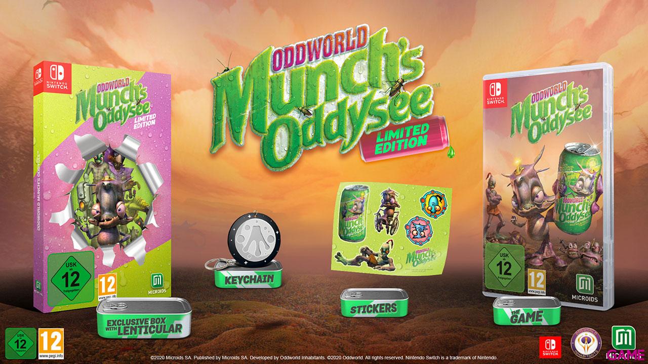 Oddworld Munch´s Oddysee Limited