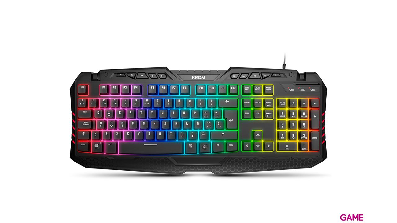 KROM Kyra RGB - Teclado Gaming