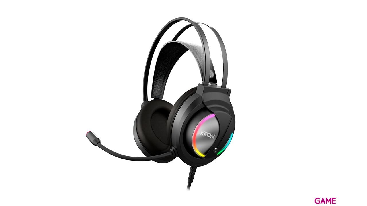 KROM Kappa RGB PC-PS4-XONE-SWITCH-MOVIL - Auriculares Gaming