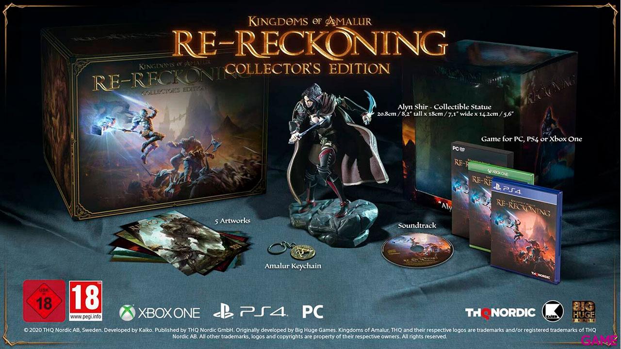 Kingdoms of Amalur Re-Reckoning - Edición Coleccionista