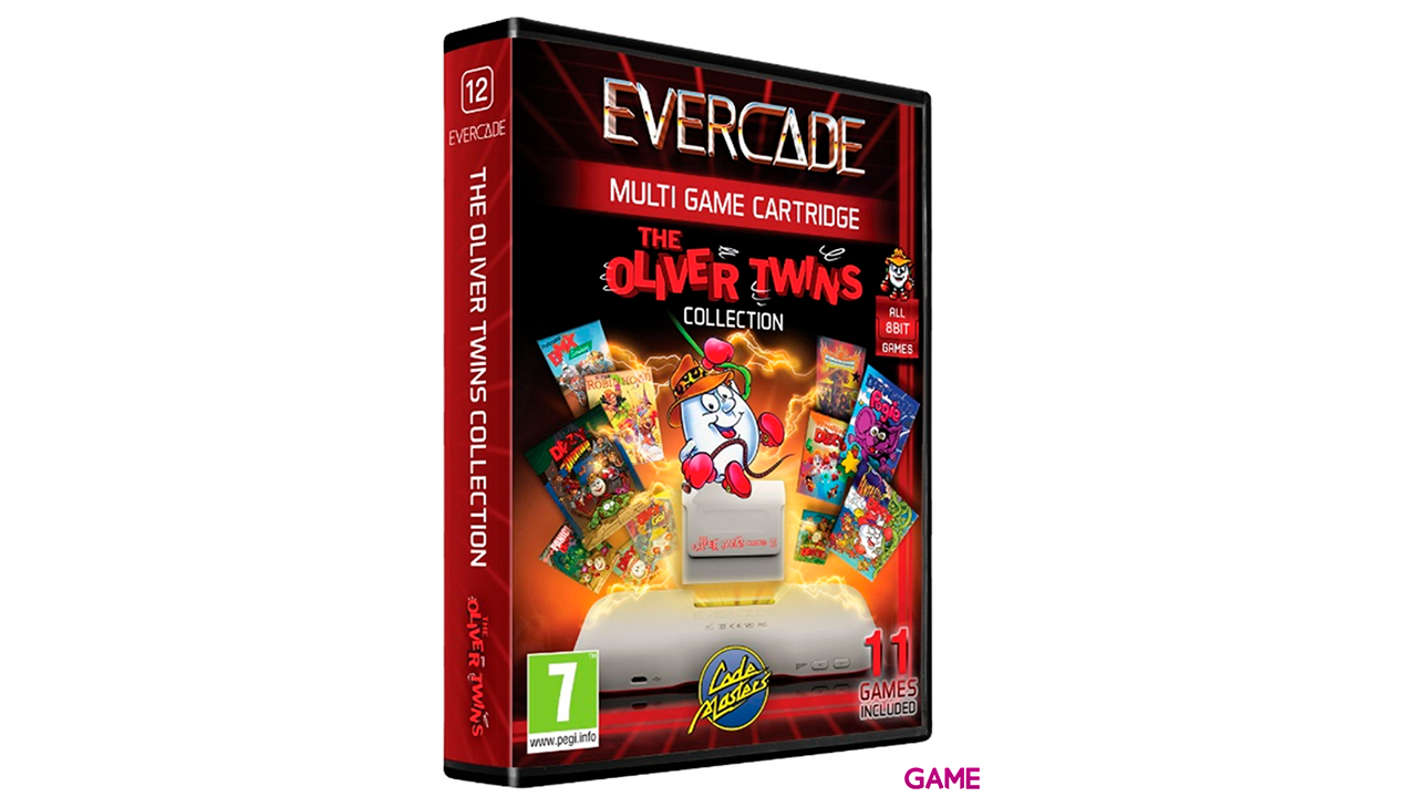 Cartucho Evercade Oliver Twins Collection 1
