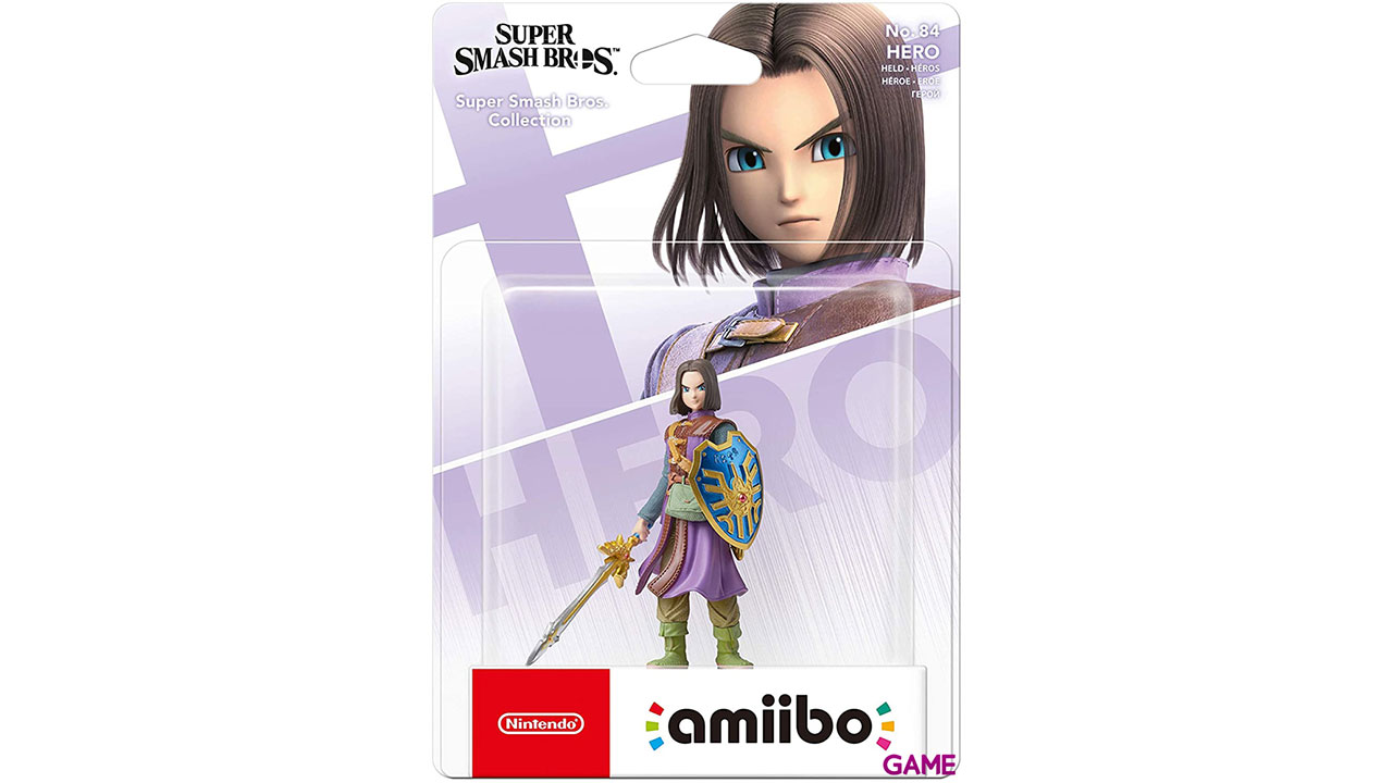 Figura amiibo Smash Héroe Dragon Quest