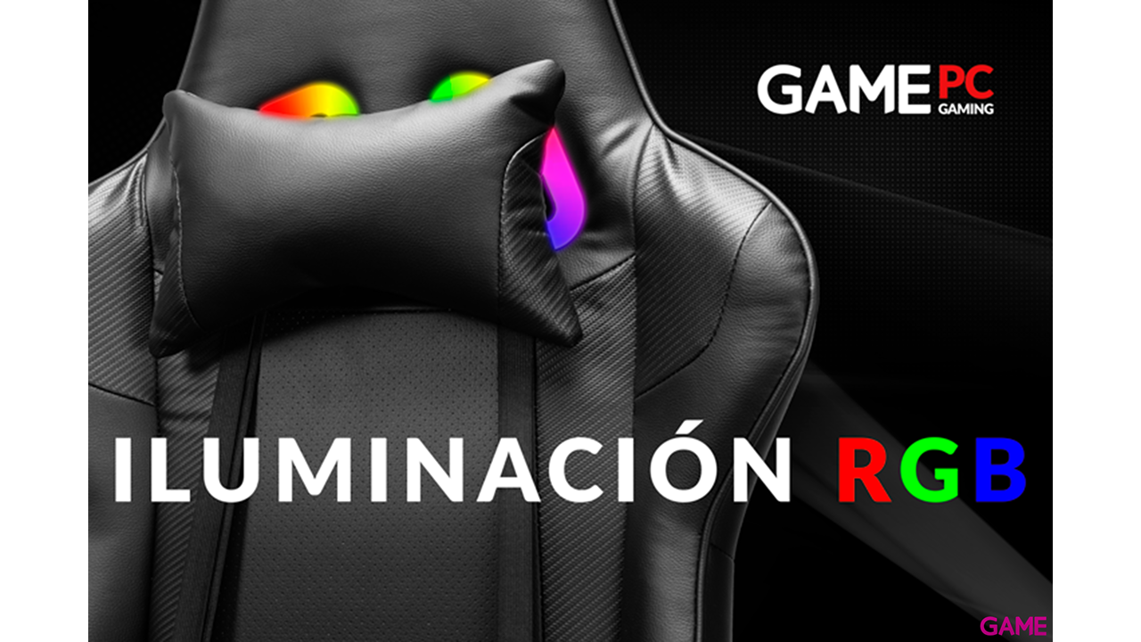 GAME Racing PRO GT310 RGB -  Silla Gaming