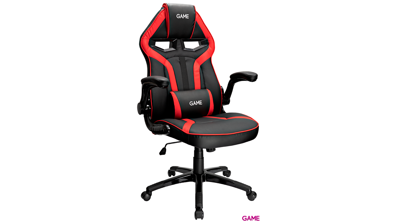 GAME Racing GT210 Rojo-Negro  -  Silla Gaming
