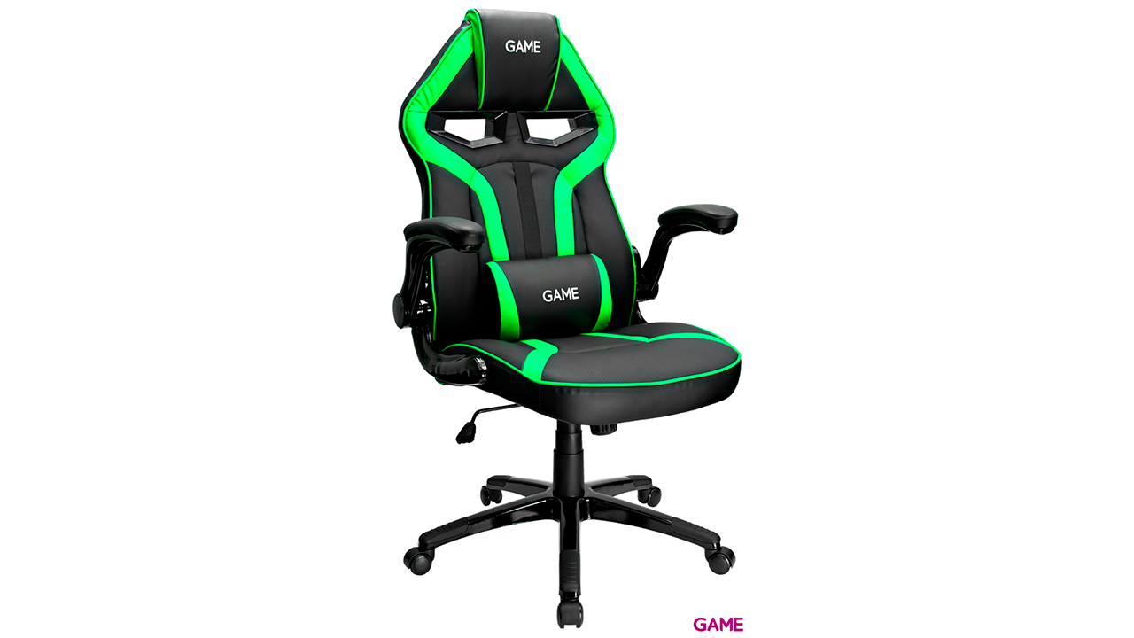 GAME Racing GT210 Verde-Negro -  Silla Gaming