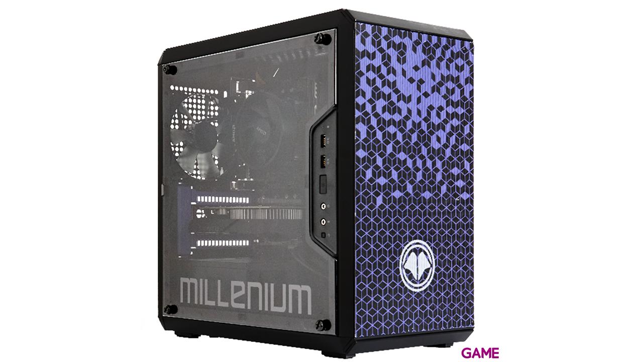 MILLENIUM MM1 Mini G165 - R5 - 600 - GTX 1650 - 16GB - 1TB HDD + 500GB SSD - W10 - Sobremesa Gaming