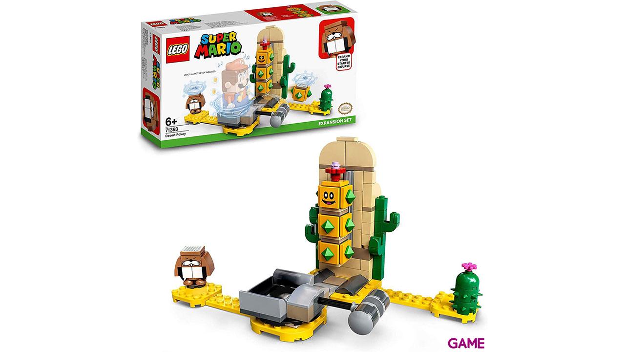 LEGO Super Mario Set de Expansión: Pokey del desierto
