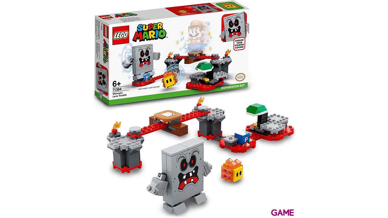 LEGO Super Mario Set de Expansión: Lava letal de Roco