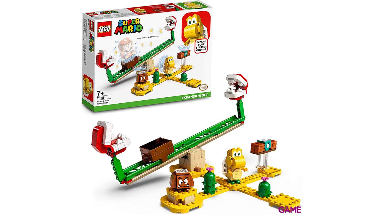 LEGO Super Mario Set de Expansión: Superderrape de la Planta Piraña