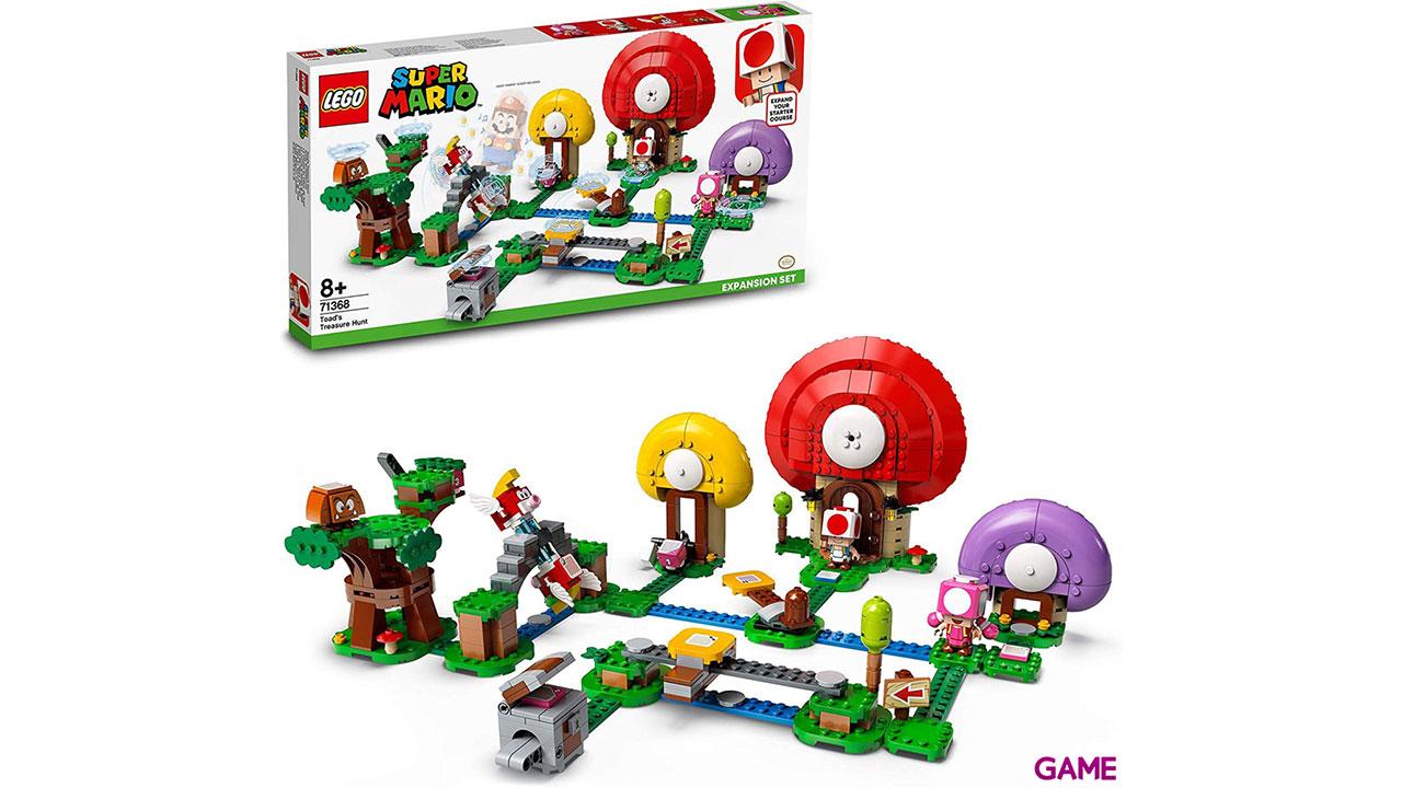 LEGO Super Mario Set de Expansión: Caza del tesoro de Toad