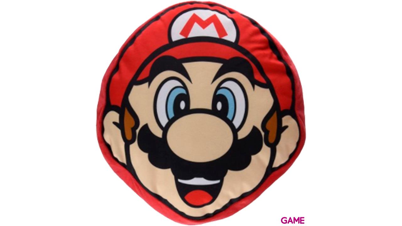 Cojín Nintendo: Mario Face 30cms