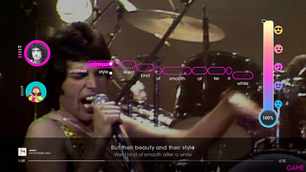 Let´s Sing Queen + 2 Micrófonos