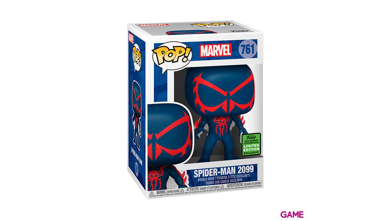 Figura Pop Marvel: Spider-Man 2099 Glam ECCC 2021