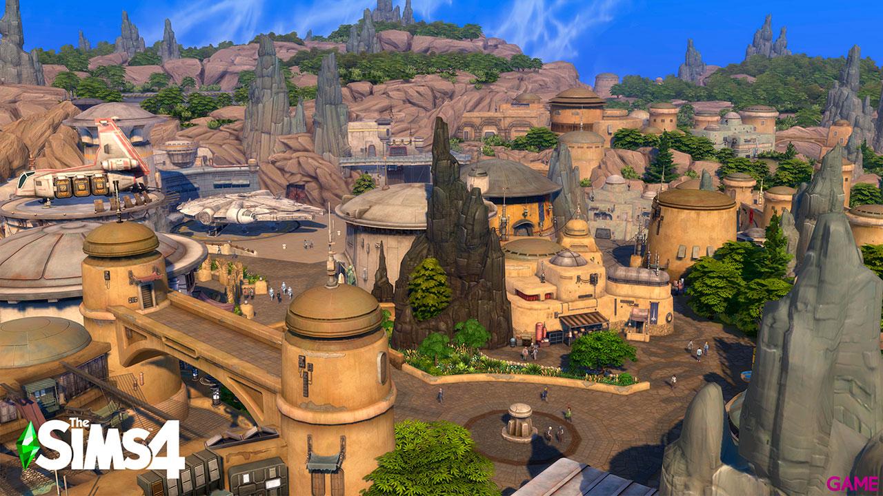 Los Sims 4 + Los Sims 4 Star Wars viaje a Batuu