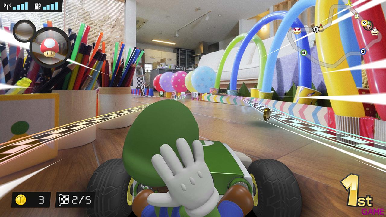 Mario Kart Live Home Circuit - Edición Luigi